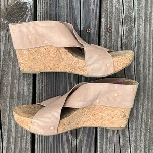 Lucky Brand wedges size 8.5